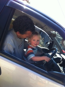 Driving lessons start early